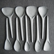 Grey spoons