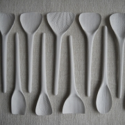 White spoons